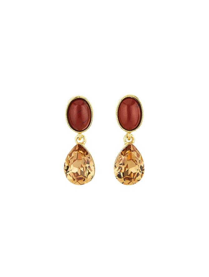 Red Jasper Earrings
