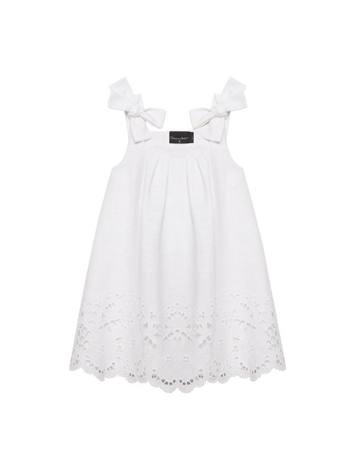 Bow Strap Lace Dress