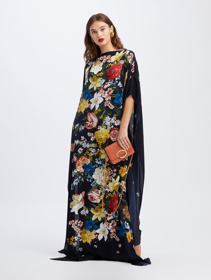 Bouquet Open Sleeve Caftan