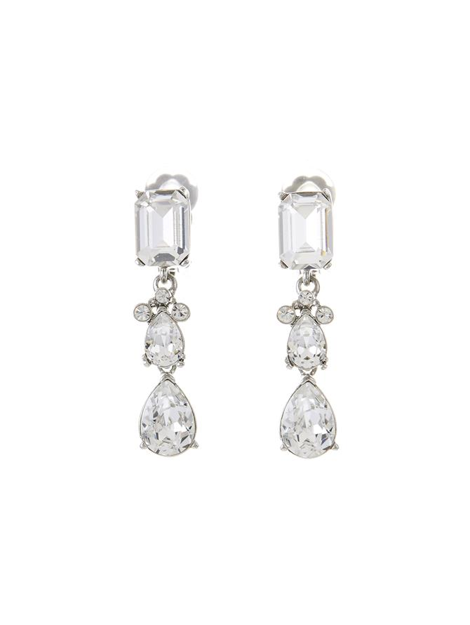 Classic Crystal Small Drop Earring