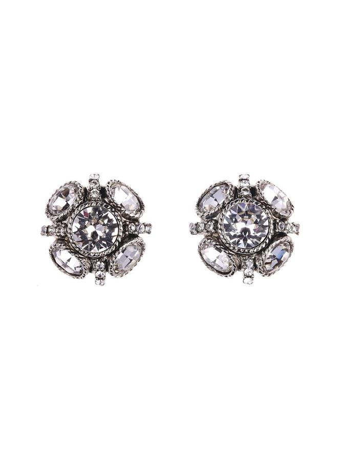 Classic Button Earring