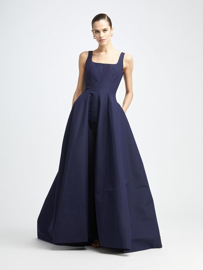 Silk Faille Gown