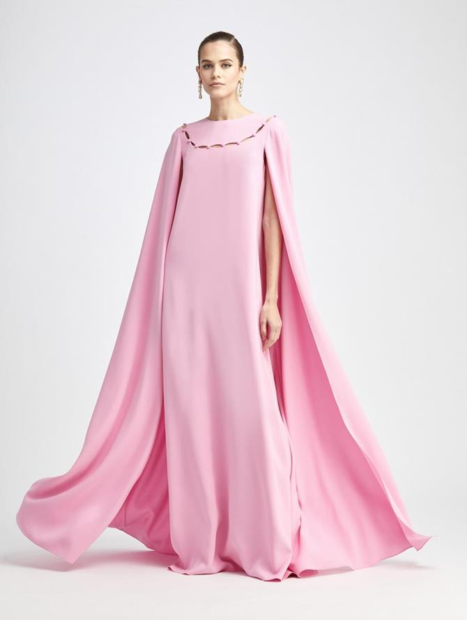 Caped Sleeve Caftan