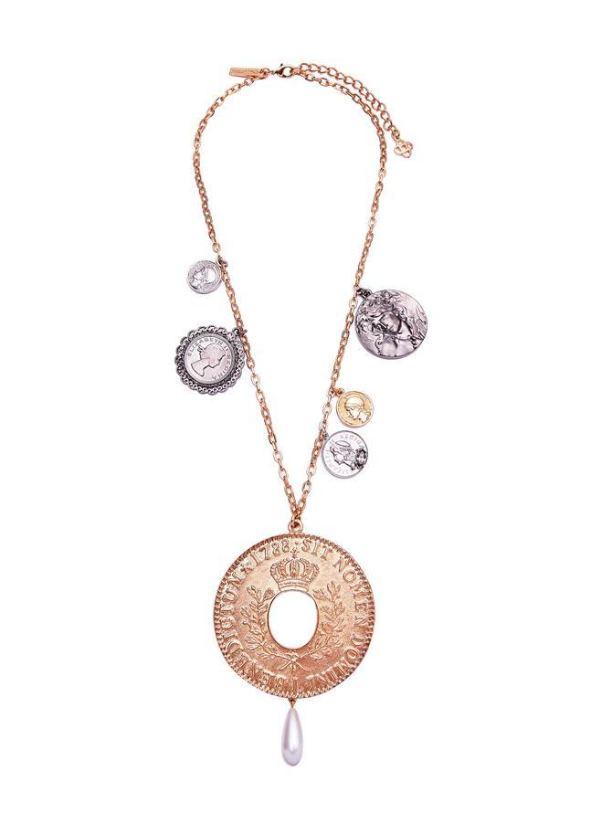 Coin Pendant Necklace