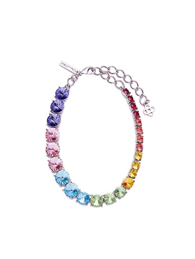 Degrade Stone Necklace