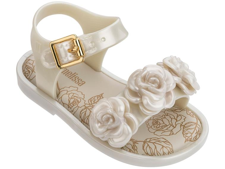 272936b3a MINI MAR SANDAL III White | Melissa Shoes