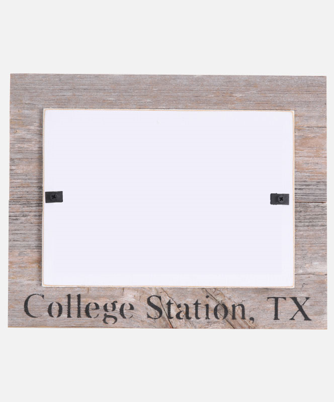 College Station Wooden Beach Frame Brown | Aggieland Outfitters