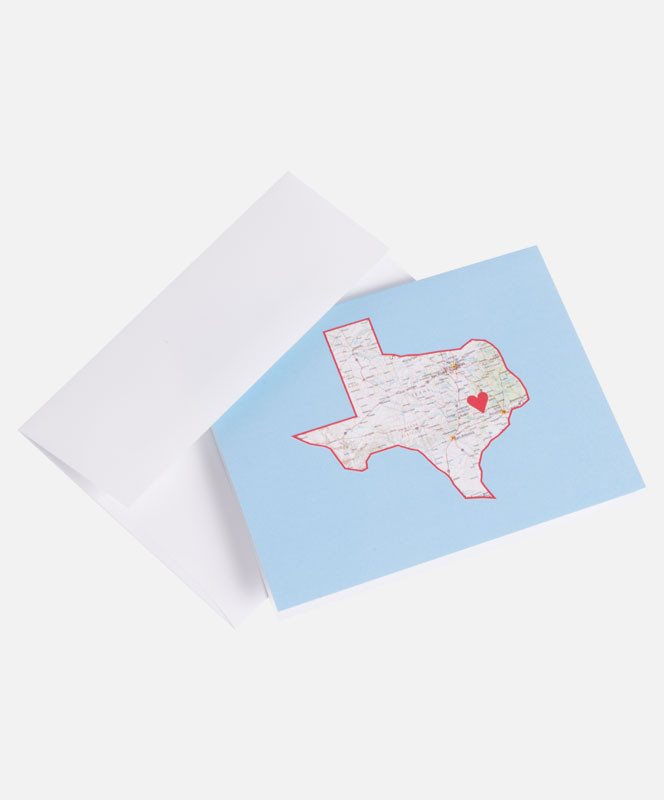 College Station Map Of Texas.College Station State Map Cards College Station Aggieland Outfitters