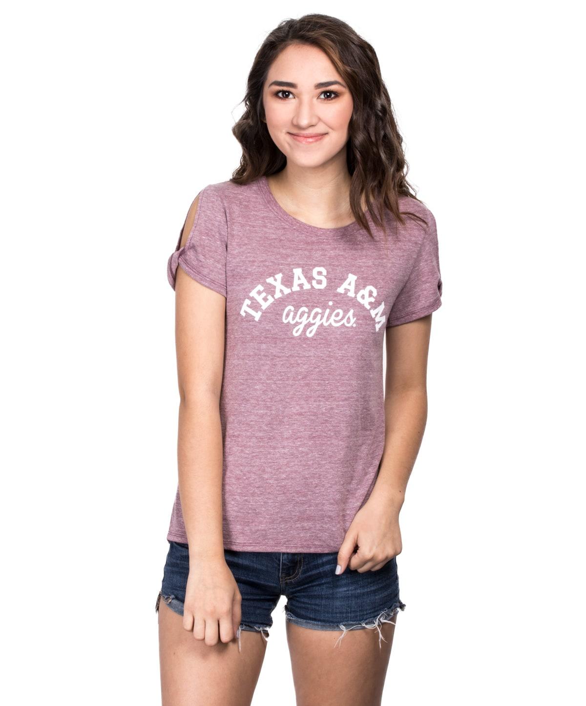 c20a8cb3 Texas A&M Womens PHYS ED Open Sleeve T-Shirt