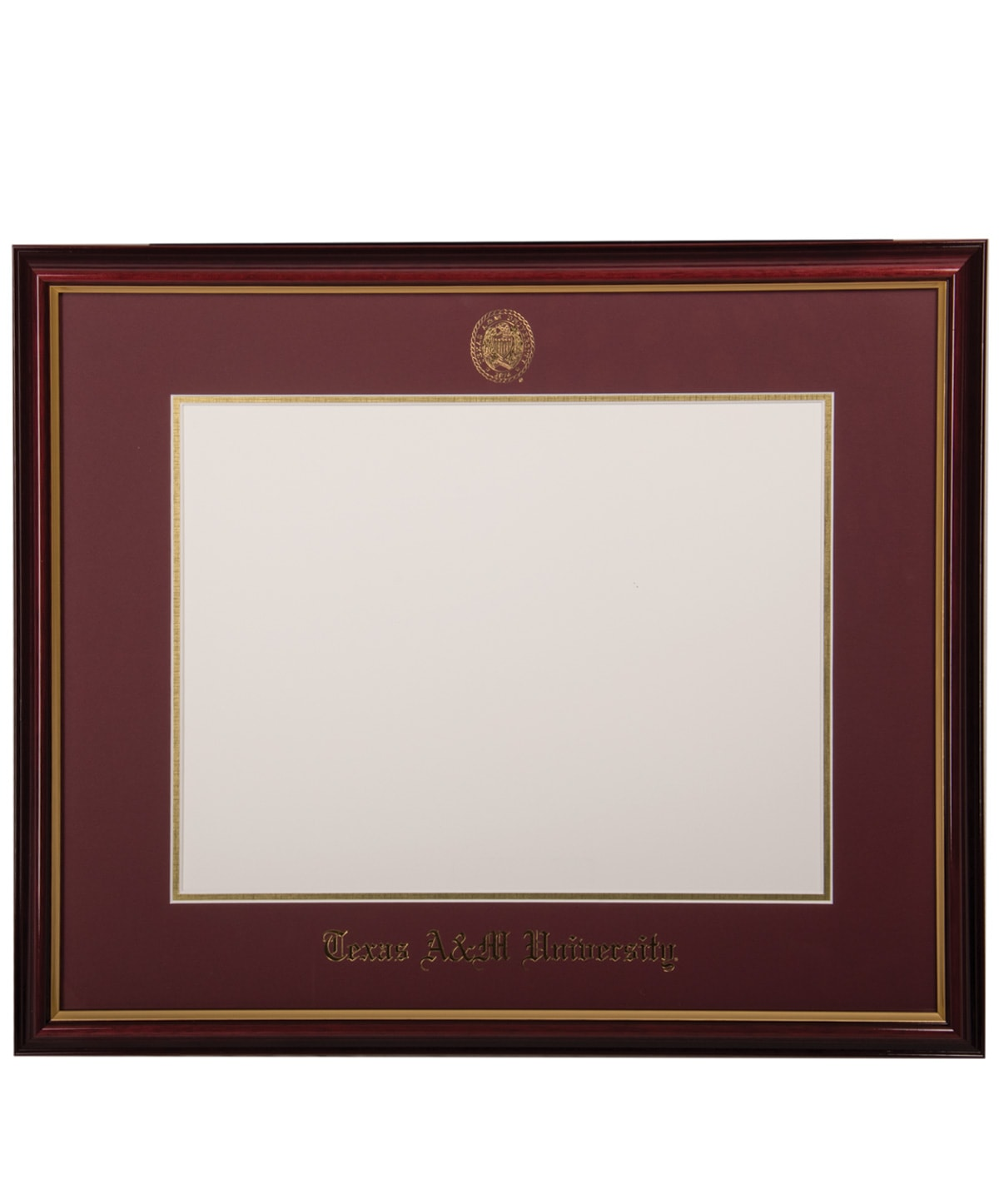 University Frames Texas A&M Petite Diploma Frame Maroon | Aggieland ...