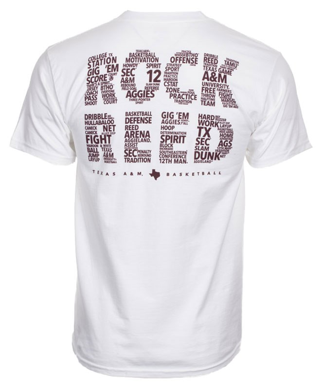 Texas A M Aggie Rock Reed T Shirt