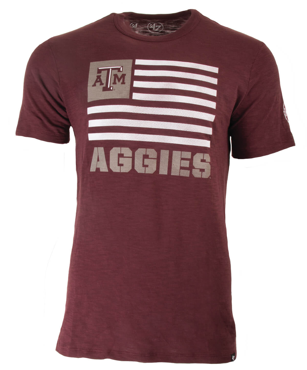 3994a60599e This Maroon Tee featuring a flag is the perfect addition to any Aggies  wardrobe! The best part about this shirt it that the sales from OHT brand  apparel ...