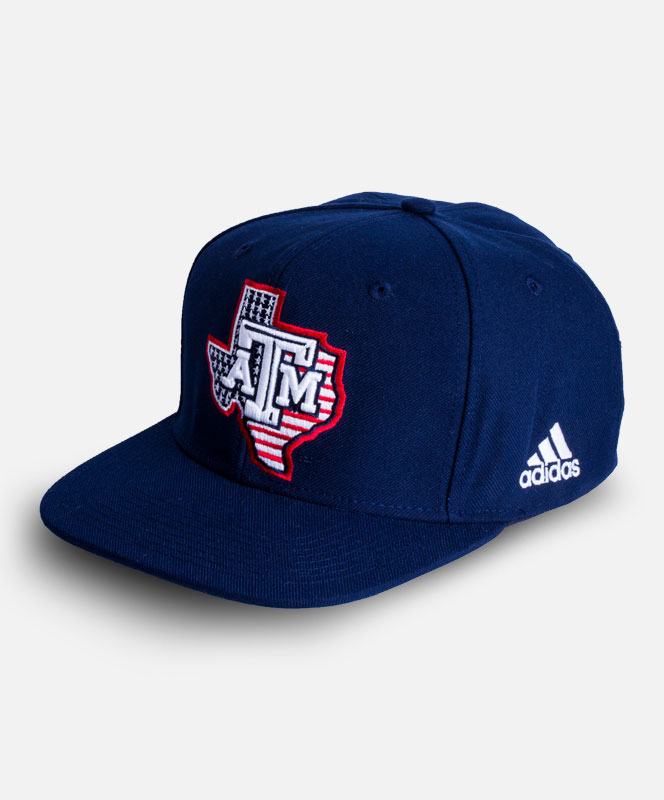ADIDAS Adidas Texas A M Lone Star USA Snapback Hat ... d1dfb7733ac