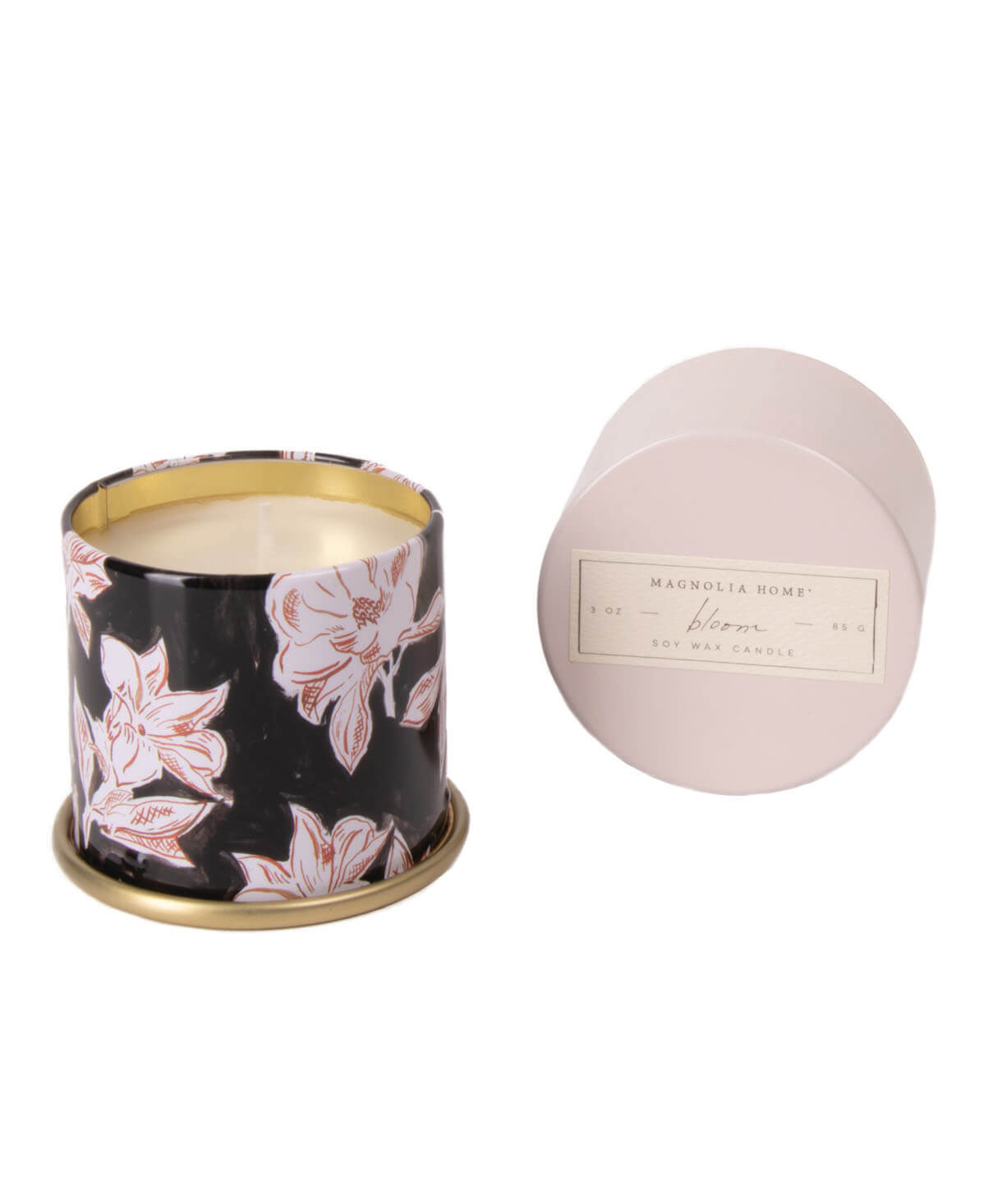 Demi Tin Candle Bloom Aggieland Outfitters