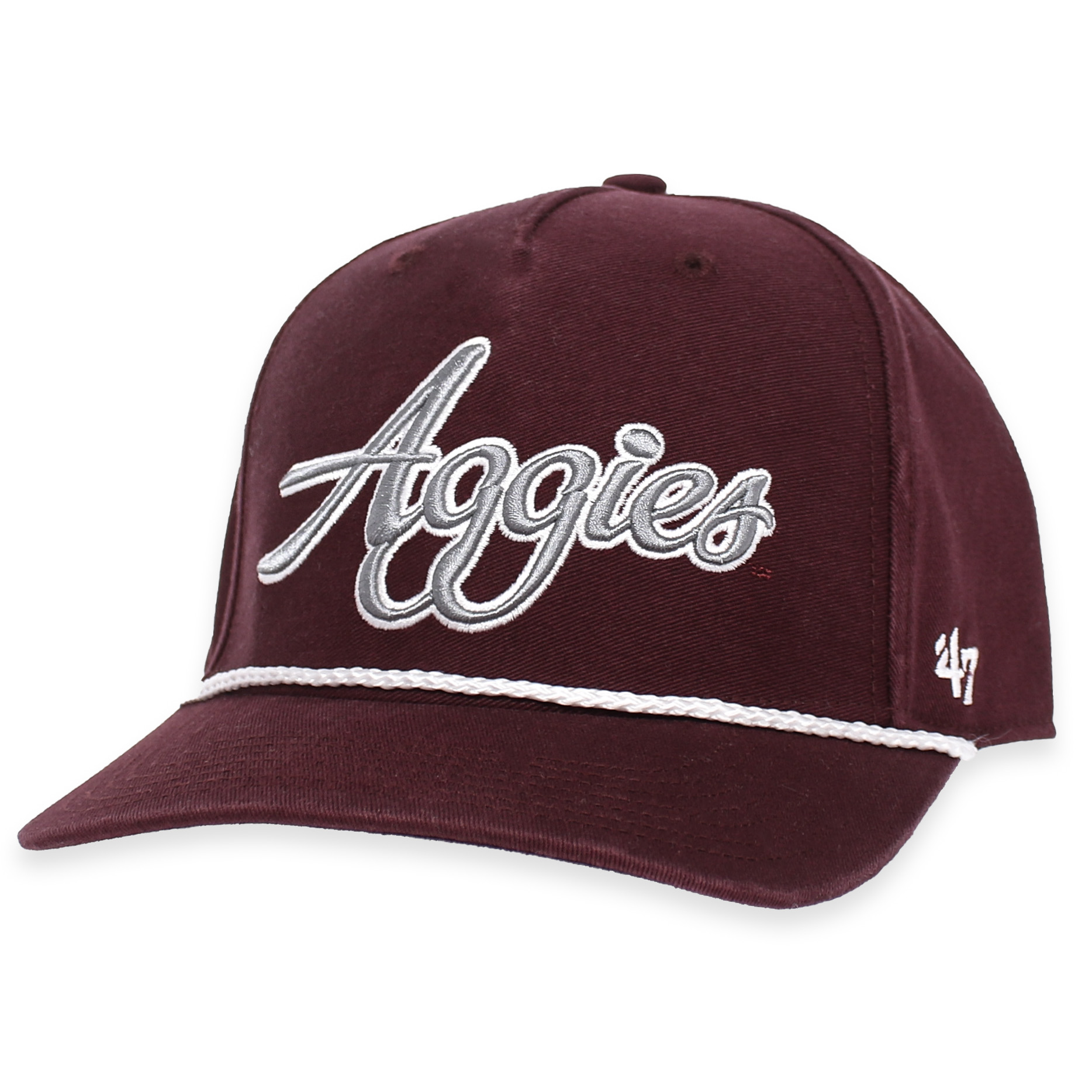 special section new york get new Texas A&M '47 Brand Aggies Overhand Script MVP Rope Cap Maroon ...