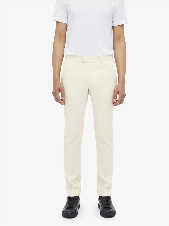 Grant Tech Linen Pants Whisper White J Lindeberg