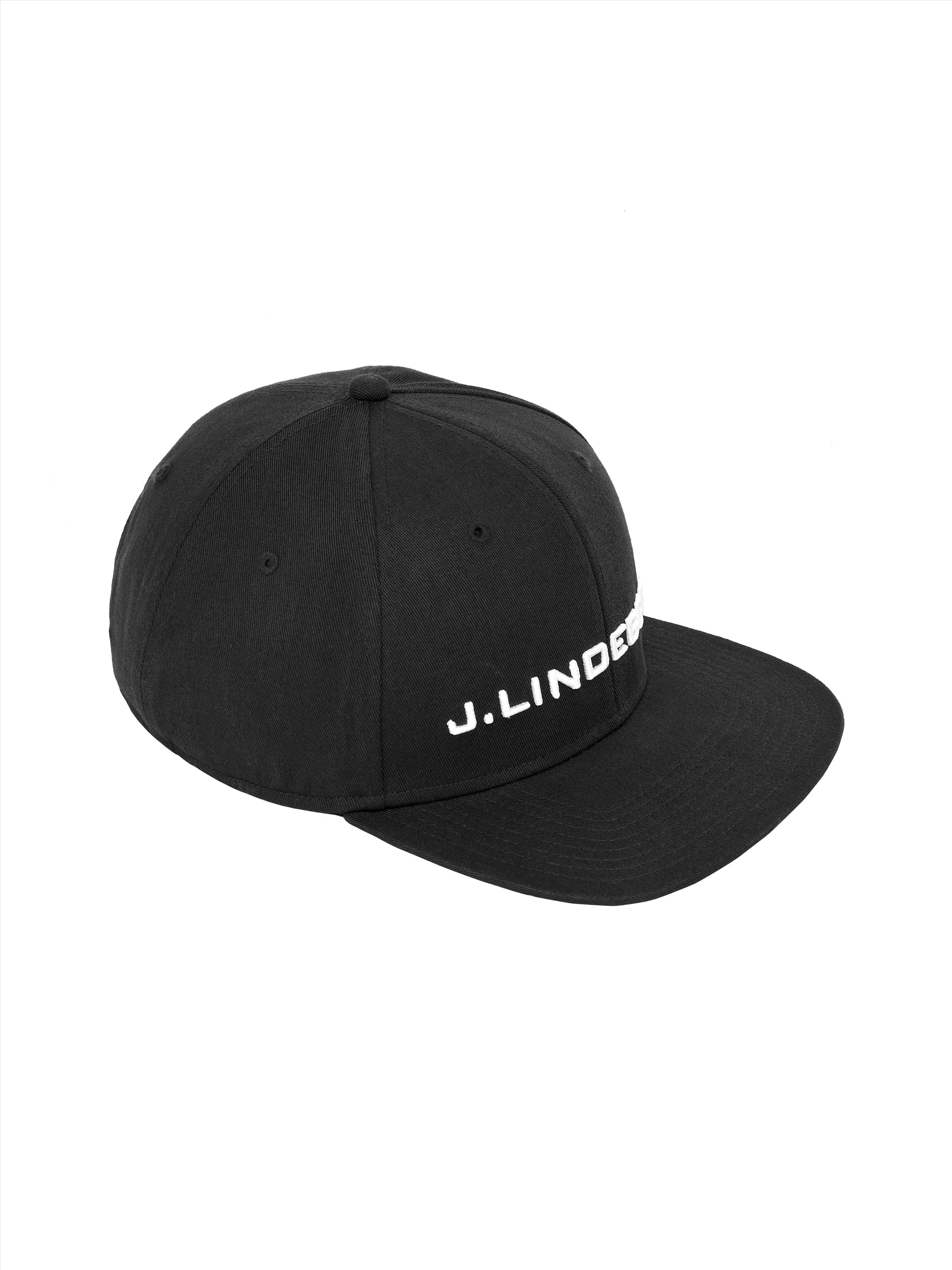"""bb8b9312858 Cotton twill cap in a modern low-cut rise with an embroidered """"J.Lindeberg""""  at center front and plastic closure at back. - Plastic closure at back"""