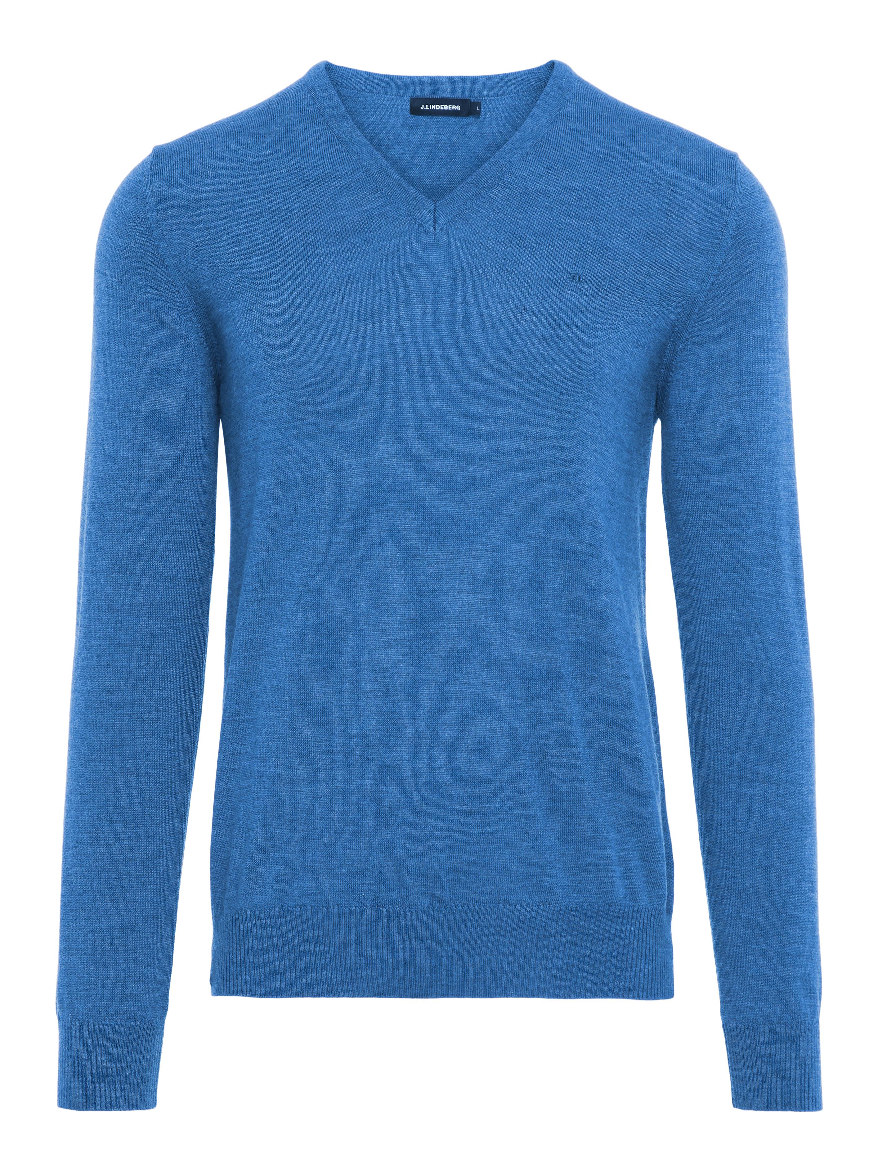 J Lindeberg Lymann True Merino Wool Sweatshirt Size Medium Herrenmode Kleidung & Accessoires
